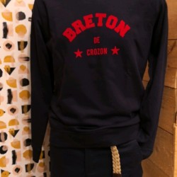 SWEAT HOMME BRETON DE CROZON