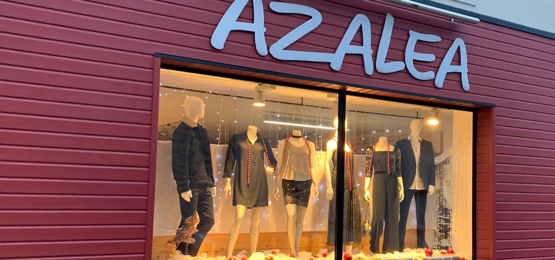 Boutique de vêtements Azaléa - Prêt à porter - Crozon